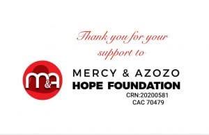 Mercy & Azozo Hope foundation